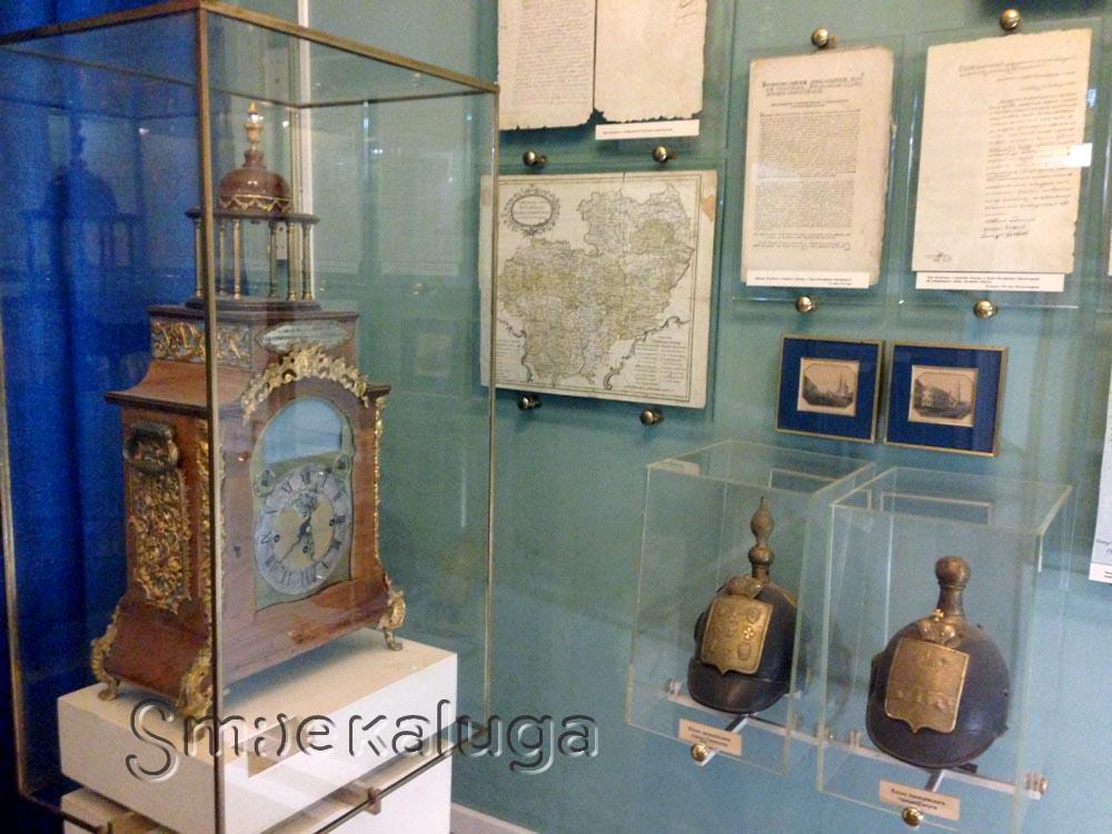 Что подарила Екатерина II Калуге на образование Калужского наместничества?