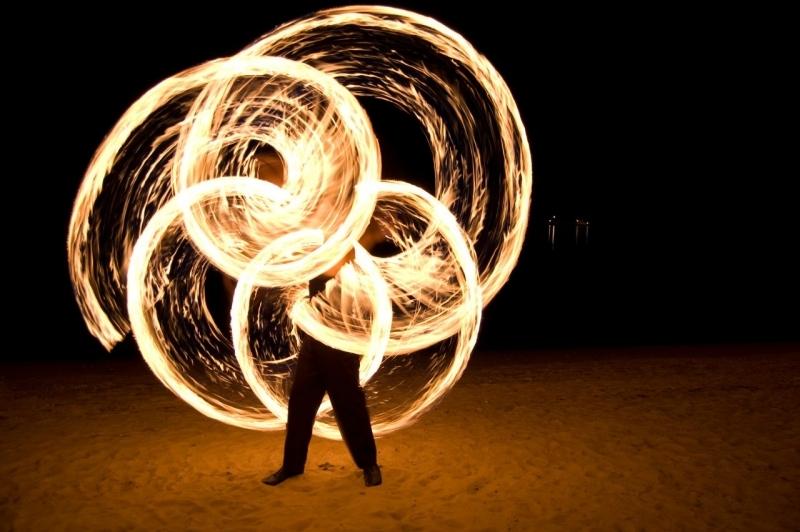 В День молодёжи у кинотеатра «Центральный» будут показаны огненные и световые инсталляции