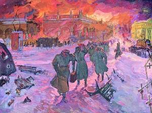 """Лев Казакевич. """"Бегство"""" (1981 год)"""
