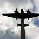 памятник-макет самолёта-бомбардировщика Ту-2 мещовск