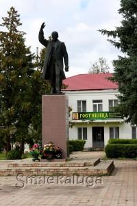Памятник В. И. Ленину мещовск