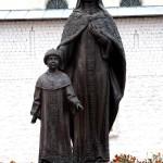 Памятник Евдокии Стрешневой мещовск