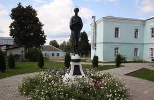 Памятник Святому Андрею Мещовскому. Источник http://gorod.kaluga.ru/ калуга