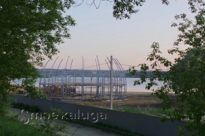 Стройка парка калуга