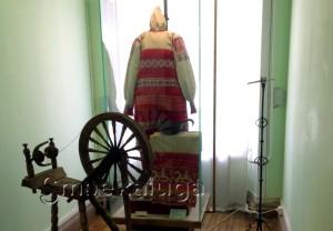 Полотенце XVII века в экспозиции Калужского объединённого музея-заповедника в калуге