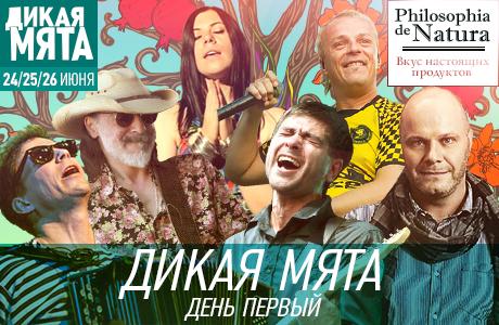 Организаторы фестиваля «Дикая Мята» — 2016 опубликовали расписание сцен на первый день фестиваля
