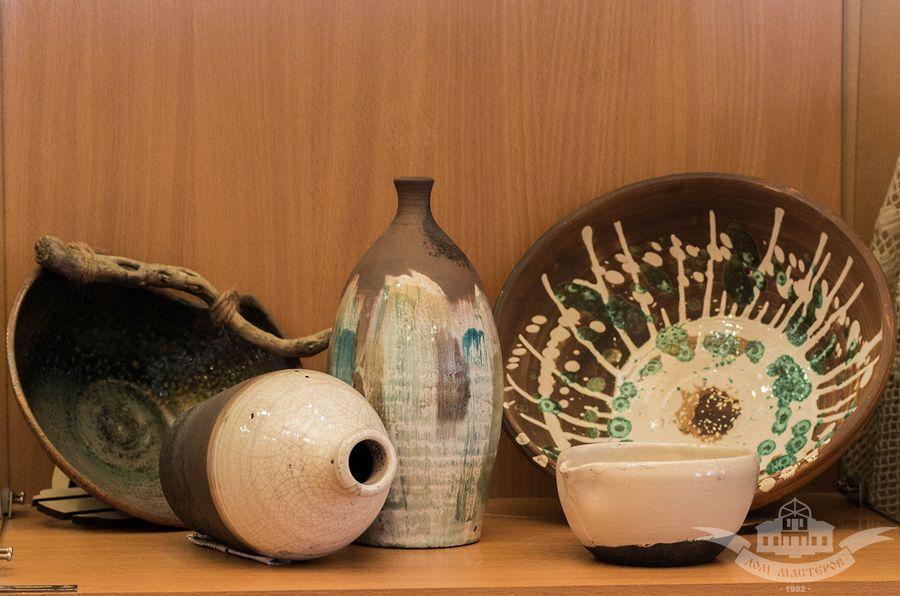 Выставка «Традиционная и авторская керамика. Мастерская Ильи и Арины» в Доме мастеров