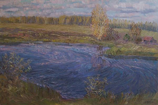 В витрине Дома художника представлены работы Сергея Бауэра