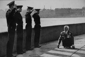 "Работа Ивана Куртова ""Старый солдат"" (1989 год) калуга"