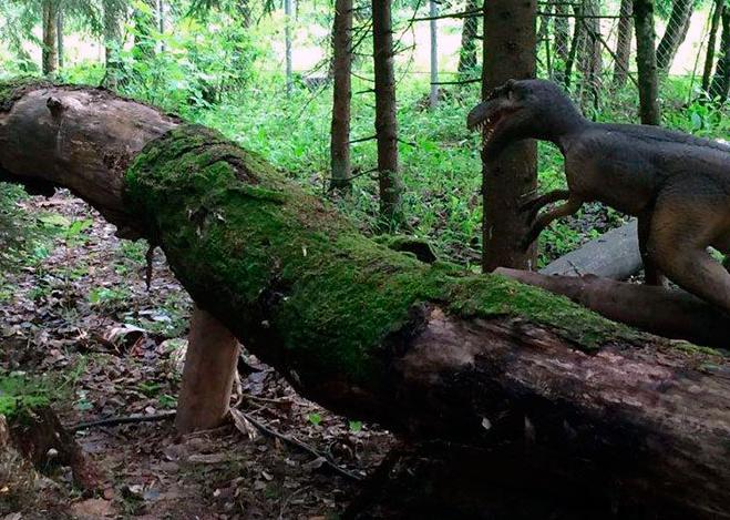 В Калужской области открылся Парк динозавров