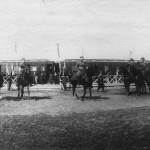 Николай II в Калуге. Смотр войск