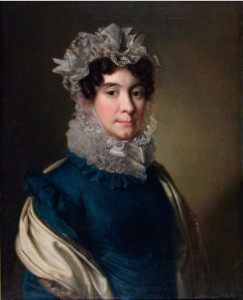 Портрет А. Г. Кашкиной. Неизвестный художник (1820-е годы) калуга