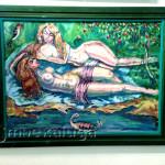"""А. И. Раффи. """"Девушки у водоёма"""", 2012 год калуга"""