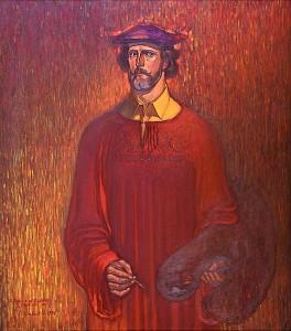 """В. Алексанов. """"Гений"""" (1994 год) калуга"""