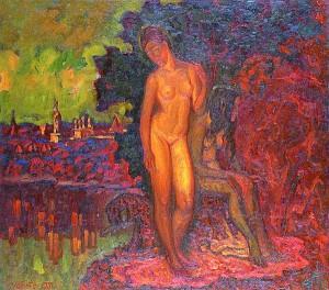 """В. Алексанов. """"Источник"""" (1991 год)"""
