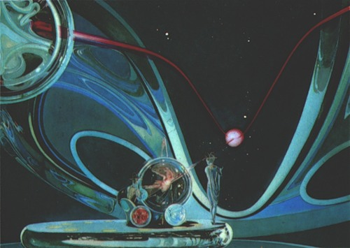 В Доме-музее Чижевского представят научно-фантастическую живопись Юрия Швеца