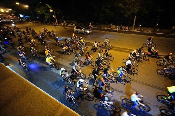В Калуге пройдёт ночной велопробег, посвящённый Дню города