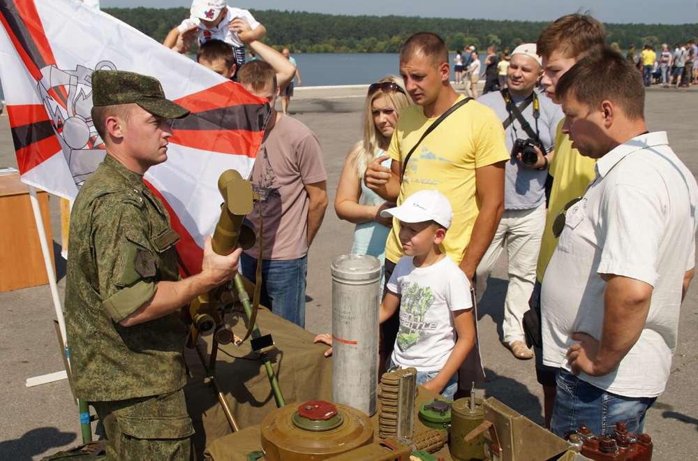 В День города на Яченском водохранилище пройдёт военный праздник «Твой выбор»