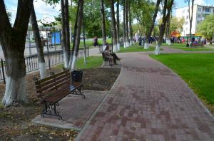 Сквер имени Ивана Болдина калуга