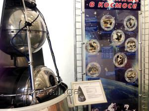 Копия искусственного спутника Земли в натуральную величину в калуге