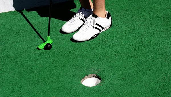 Клуб по мини-гольфу теперь есть и в Калуге