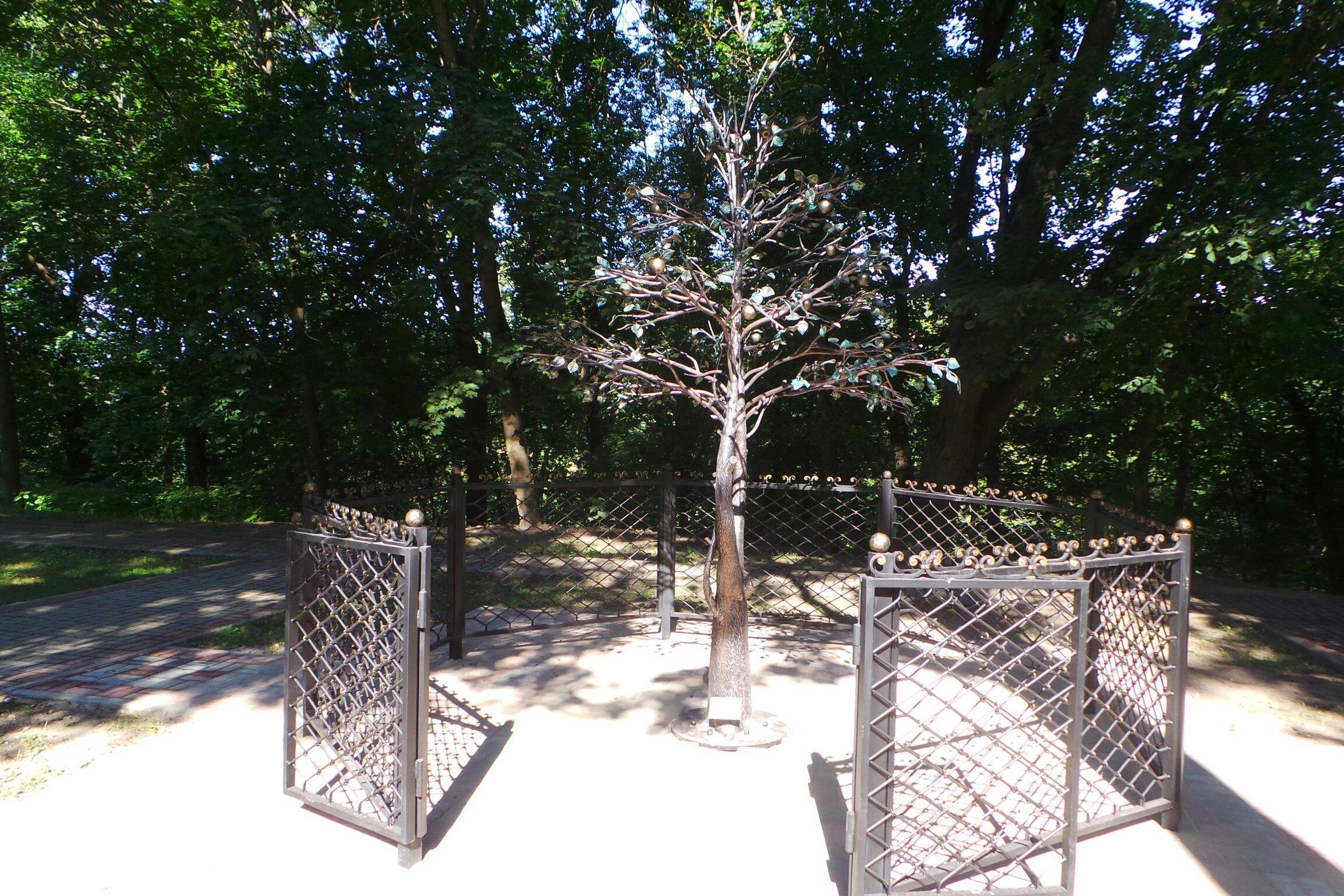 «Райское дерево» открыли вместе с новой традицией