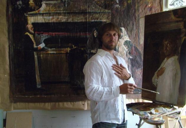 16 августа в Малоярославце откроется выставка художника-«грековца» Андрея Дроздова