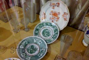 Тарелки производства завода Корниловых калуга