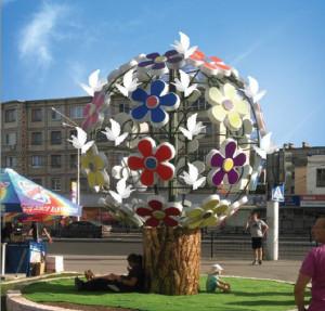 Проект цветочного дерева калуга