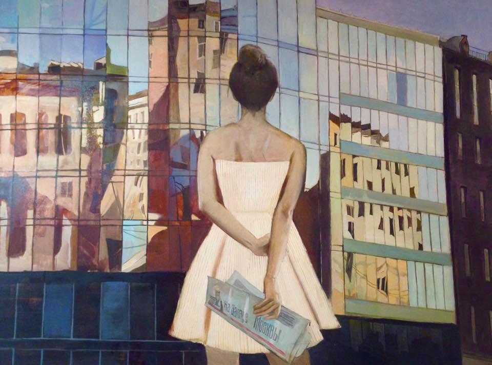 В галерее Дом музыки открылась выставка художницы Юлии Просецкой «Дуновение ветра»