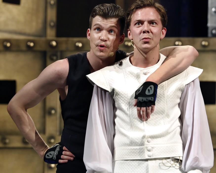 Трагедия «Ромео и Джульетта» в Калужском областном драматическом театре