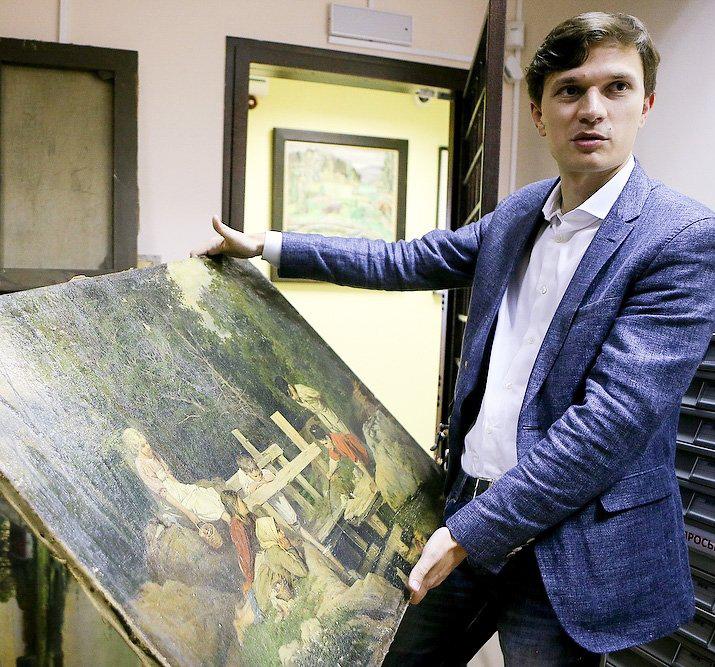 В Калужский музей изобразительных искусств вернут утраченный в годы ВОВ экспонат