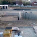 На территории будущей площадки калуга