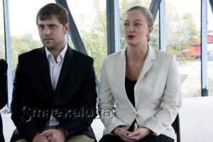 Иван Батаев и Ксения Голыжбина калуга