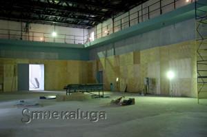 Инновационный культурный центр. Стройка. Будущий зал-трансформер