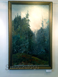 """Л. Климентовская. """"Ели"""" (2000 год) калуга"""