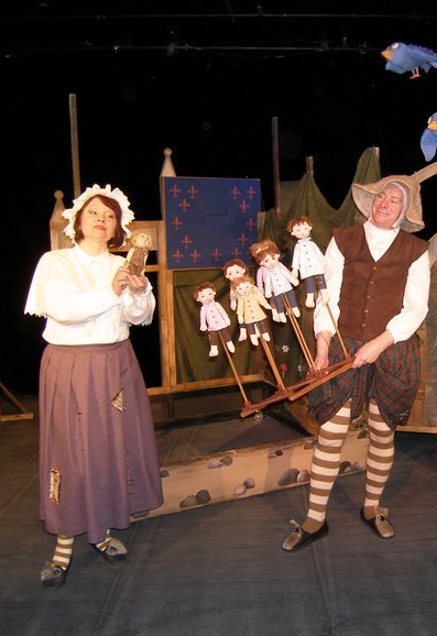 Спектакль «Мальчик-с-Пальчик» в Калужском театре кукол