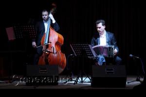 Алпеев Илья (контрабас) и Павел Ратынский (бандонеон) калуга