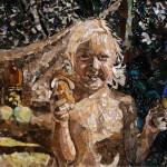 Портрет из крыльев бабочек. Вадим Зарицкий калуга