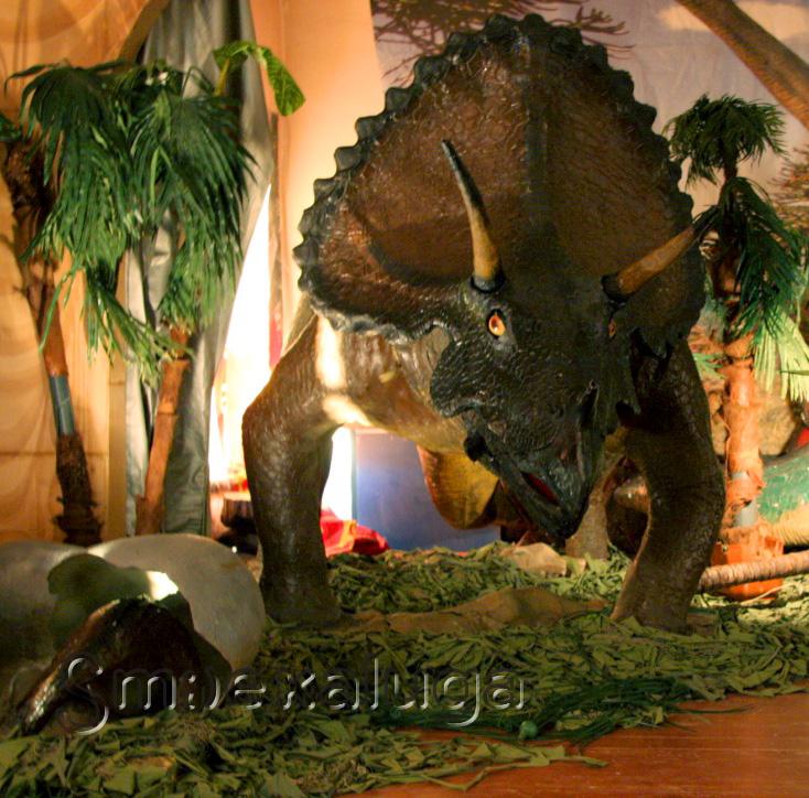 В Калужском музее изобразительных искусств работает выставка «Планета динозавров»