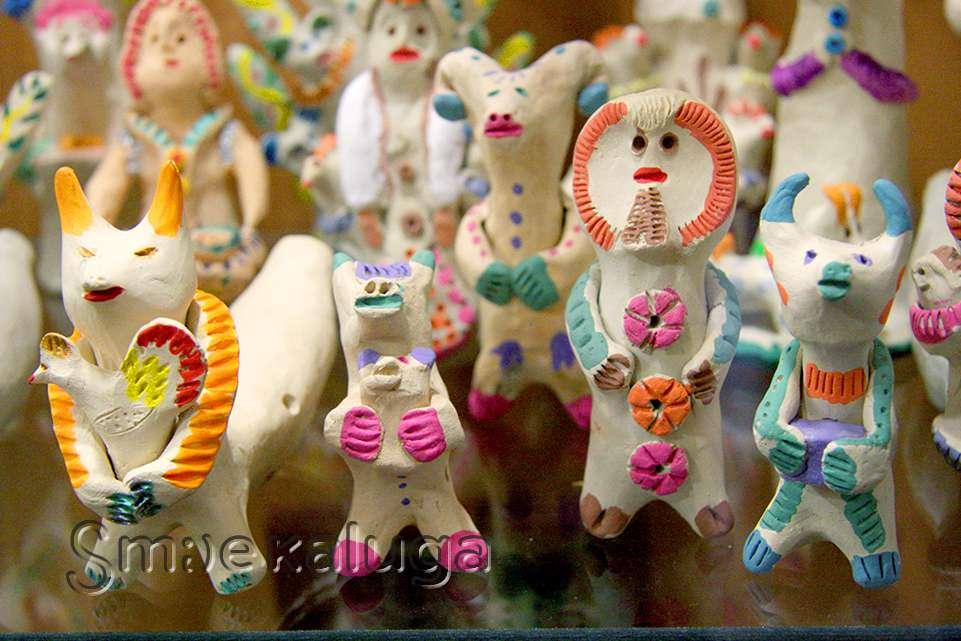В Доме мастеров открылась выставка хлудневской игрушки