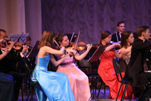 На концерте оркестра калуга