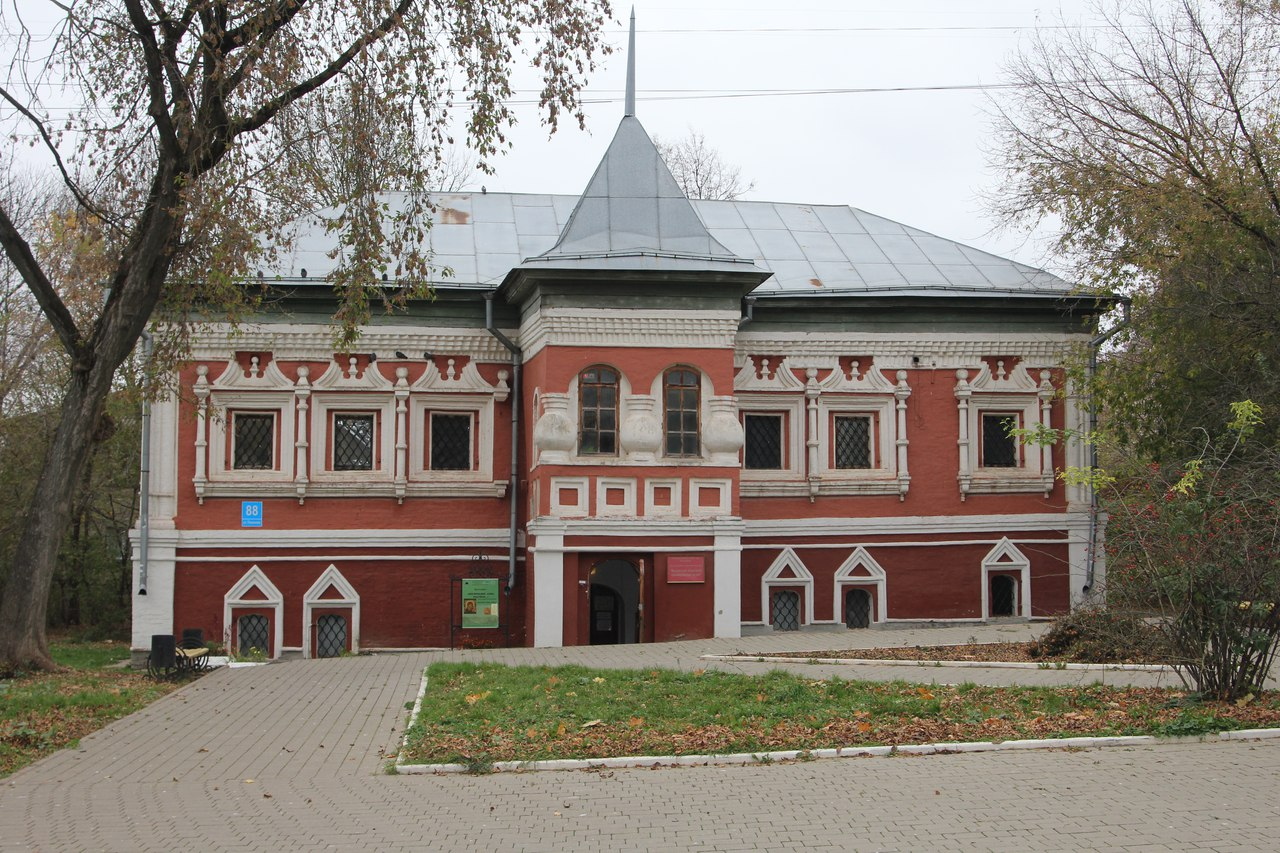 Заседание женского клуба «Субботние посиделки» в Палатах Коробовых