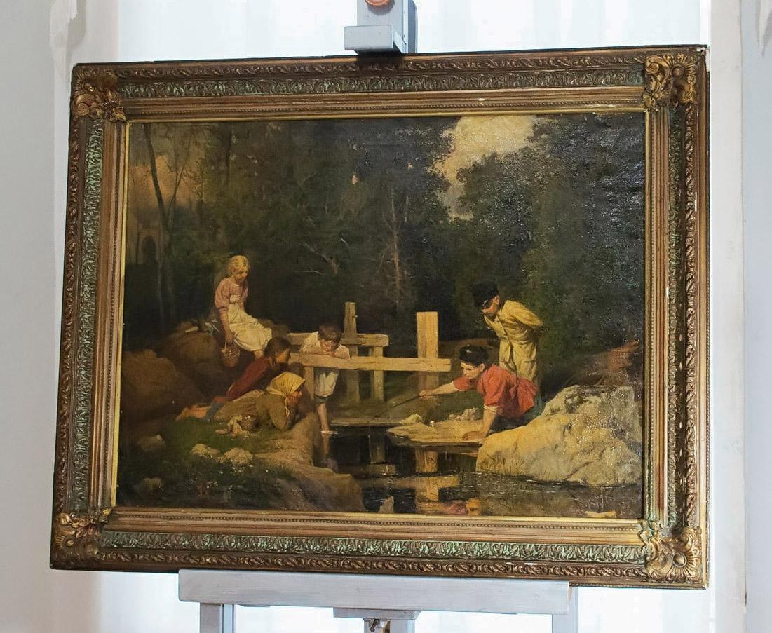 История «Рыбной ловли»: спустя 75 утраченная картина Голынского вернулась в Калужский музей изобразительных искусств