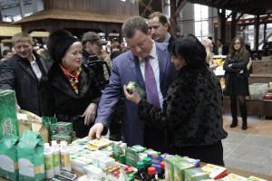 """Константин Горобцов на открытии рынка """"Калуга"""" калуга"""