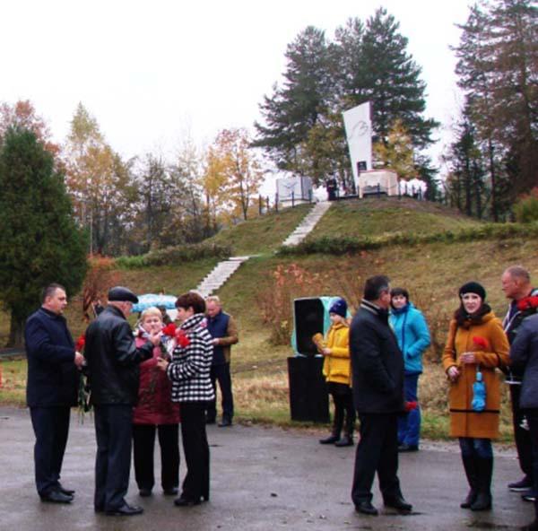 На Кургане Славы у моста через Угру появился новый монумент