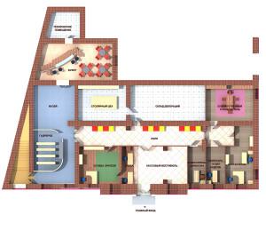 План первого этажа калуга