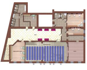 План второго этаже калуга