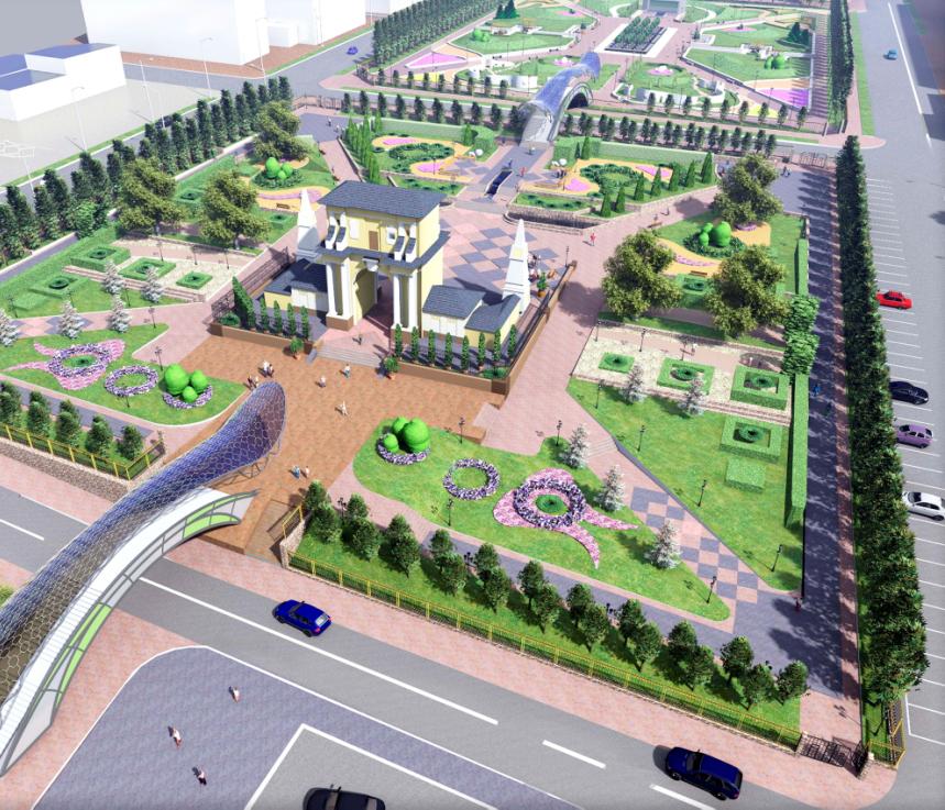Объявлен открытый конкурс на разработку концепции парка на месте городского рынка