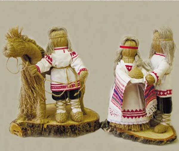 В Доме мастеров представлены изделия в уникальной технике – плетении из льняного шнура